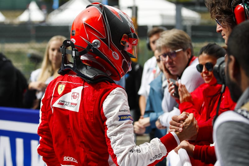 Marcus Armstrong - PREMA Racing at the 2019 FIA Formula 3 Championship - Spa-Francorchamps - Race 2