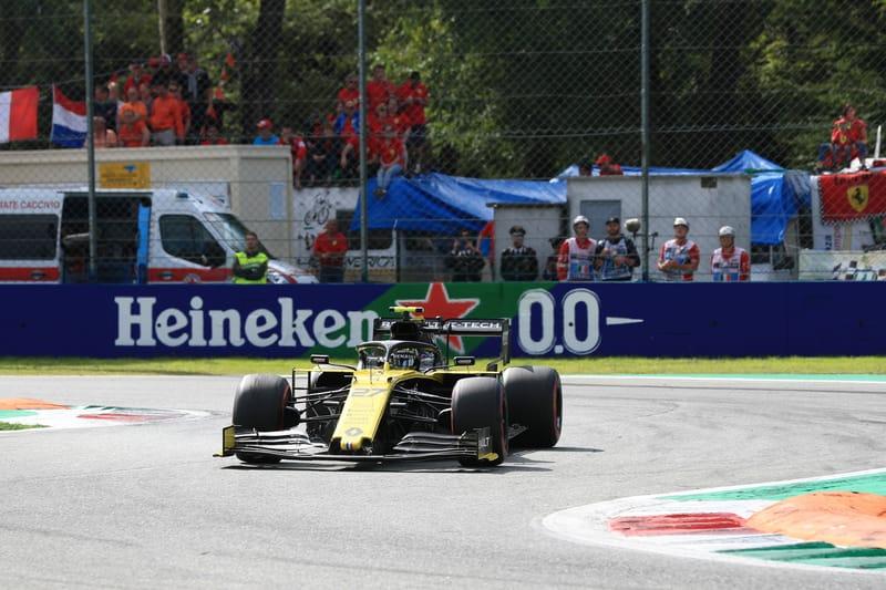 Nico Hülkenberg - Renault F1 Team in the 2019 Formula 1 Italian Grand Prix - Autodromo Nazionale Monza - Race