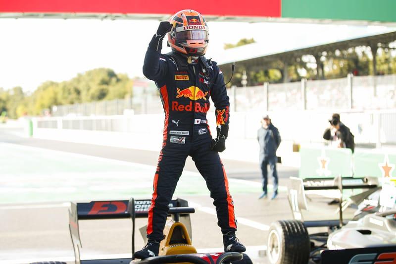 Yuki Tsunoda - Jenzer Motorsport in the 2019 FIA Formula 3 Championship - Autodromo Nazionale Monza - Race 2 - Parc ferme