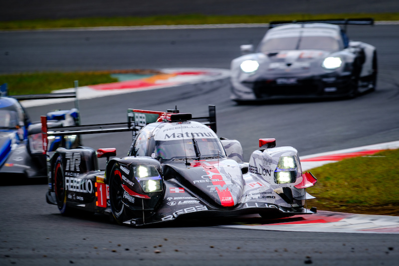 #1 Rebellion Racing on track at Fuji Speedway, 6 Hours of Fuji, WEC, 2019