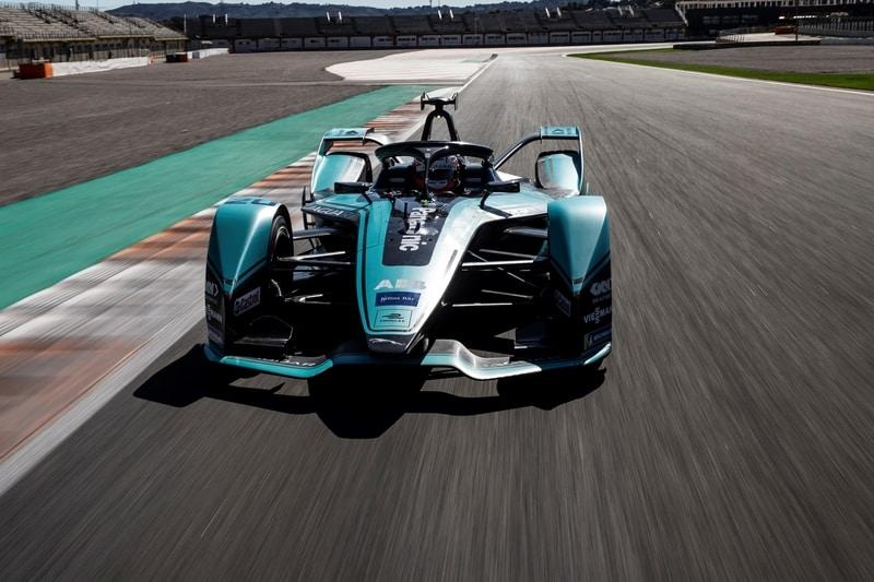 Jaguar I-Type 4 at Circuit Ricardo Tormo, pre-season testing, Valencia
