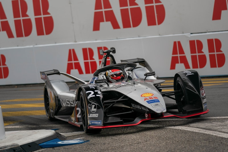 Sebastien Buemi racing for Nissan e. dams