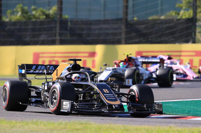 Romain Grosjean - Haas F1 Team in Japan