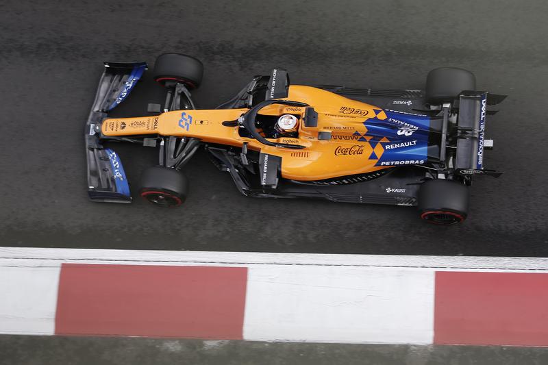 Carlos Sainz Jr. - McLaren F1 Team in the 2019 Formula 1 Mexican Grand Prix - Autodromo Hermanos Rodriguez - Race