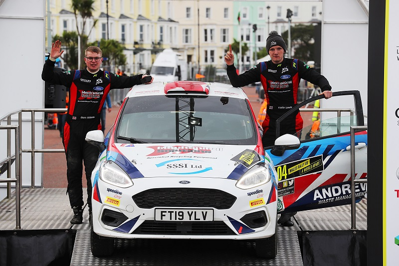 """Eddie Lewis on His Maiden WRC Event: """"It's an Amazing Feeling to Reach the End"""""""