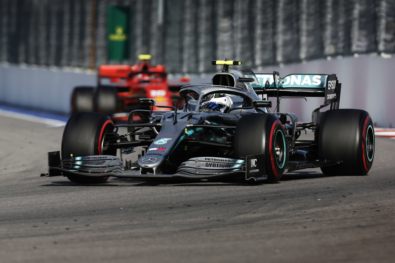 Valtteri Bottas - Mercedes-AMG Petronas Motorsport in the 2019 Formula 1 Russian Grand Prix - Sochi Autodrom - Race