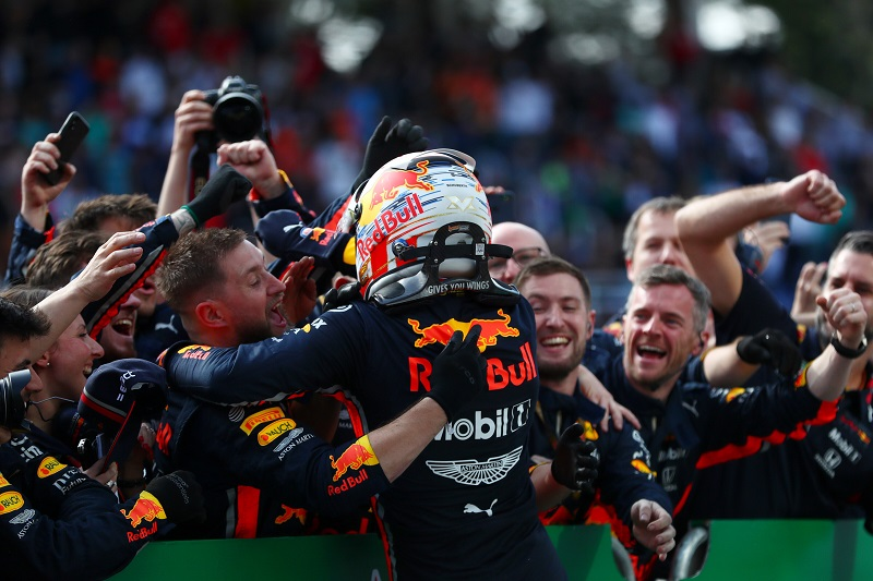 Verstappen Praises 'Huge Team Effort' after 'Incredible' Brazilian Grand Prix Victory