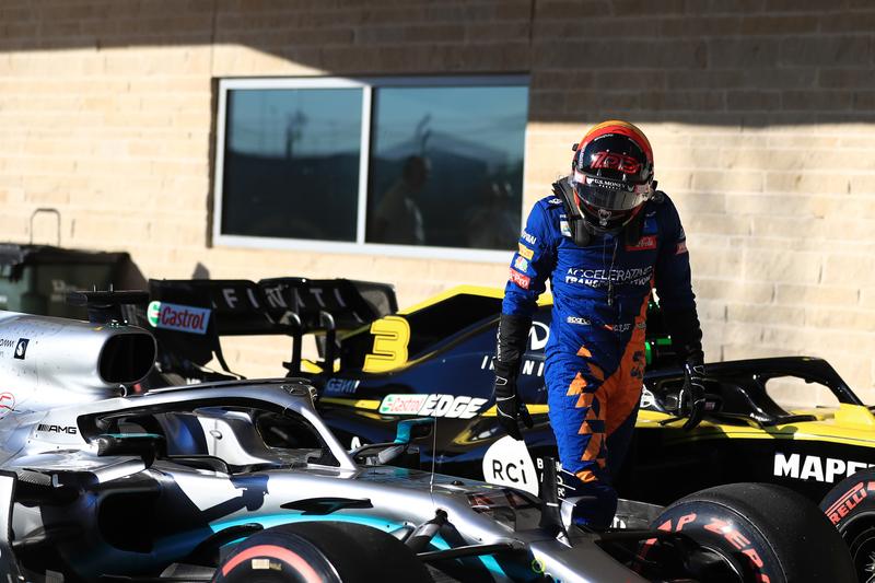 Carlos Sainz Jr. - McLaren F1 Team in the 2019 Formula 1 United States Grand Prix - Circuit of the Americas - Qualifying