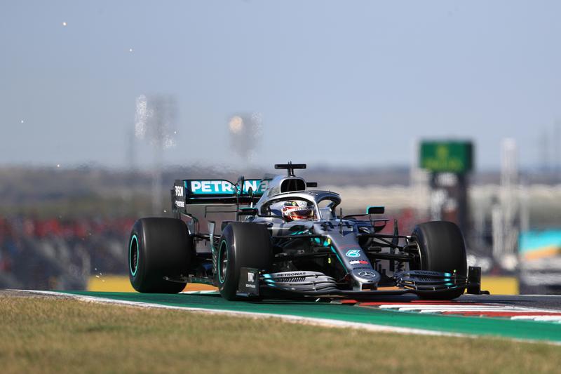 Lewis Hamilton - Mercedes-AMG Petronas Motorsport in the 2019 Formula 1 United States Grand Prix - Circuit of the Americas - Free Practice 1