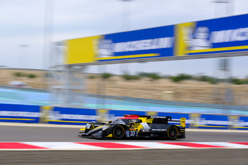 #37 Jackie Chan DC Racing on track at Bapco 8 Hours of Bahrain, 2019