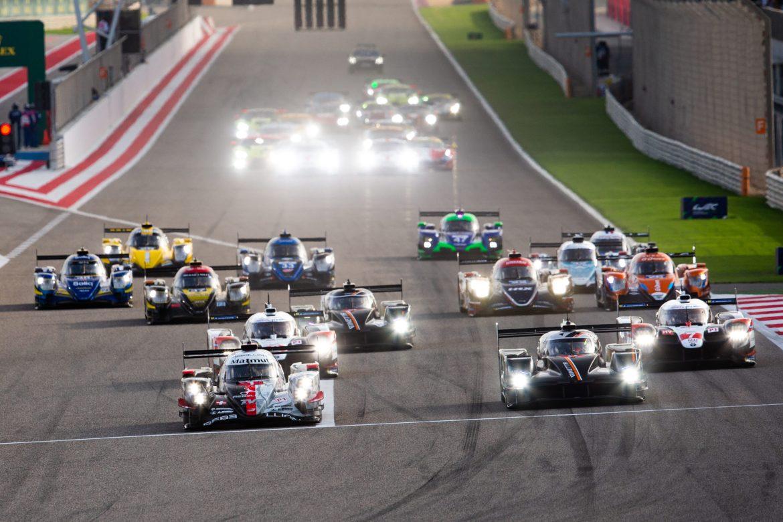Start of the 2019 Bapco 8 Hours of Bahrain, FIA World Endurance Championship