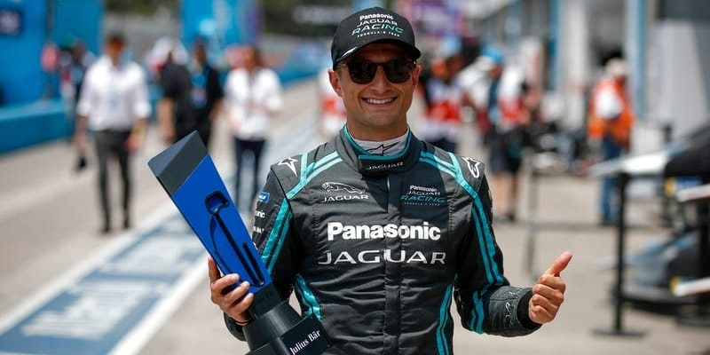 Mitch Evans takes pole position for Santiago ePrix