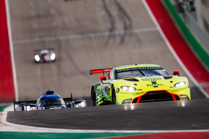Aston Martin Racing on track at 6 Hours of COTA, 2020 WEC