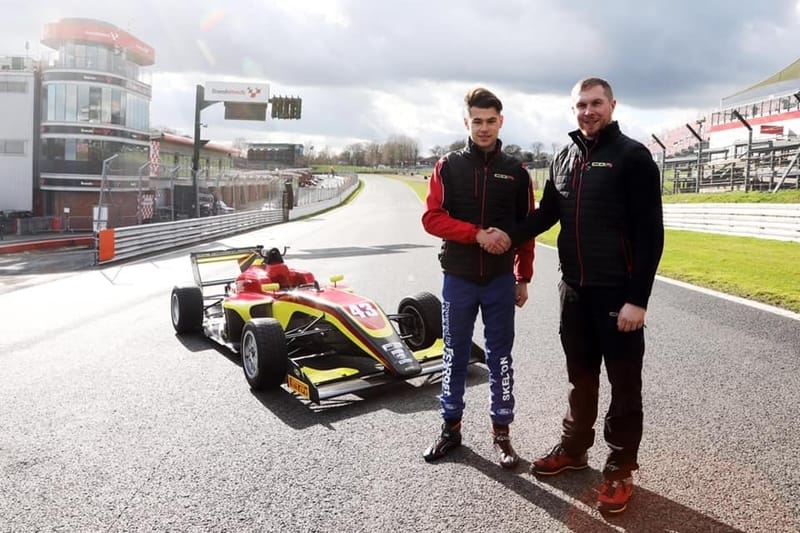 Josh Skelton joins Chris Dittmann Racing for 2020 BRDC British F3 Championship - The Checkered Flag