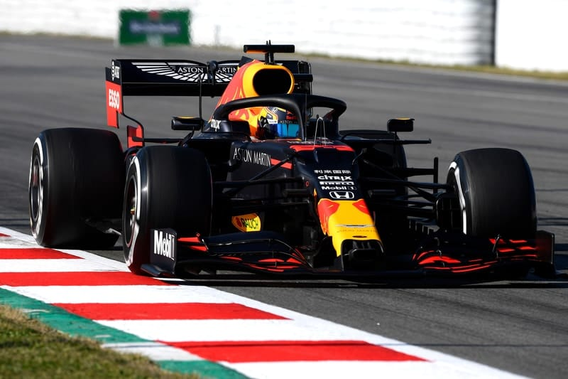 Red Bull changes power unit on second day of testing - The Checkered Flag