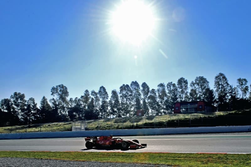 Ferrari hit by reliability issues on Day 3 of testing - The Checkered Flag