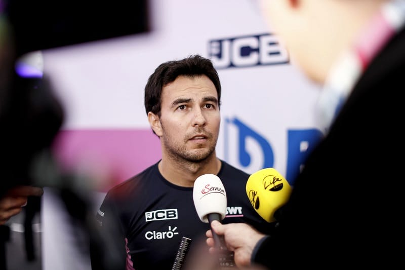 """Sergio Pérez: """"It will be a long season but I'm looking forward to it"""" - The Checkered Flag"""