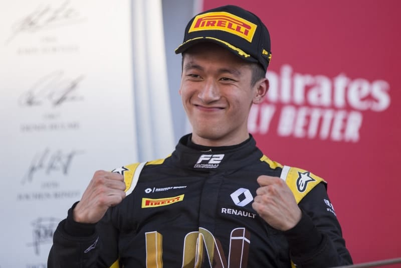 Zhou steps up to Renault F1 test driver role - The Checkered Flag