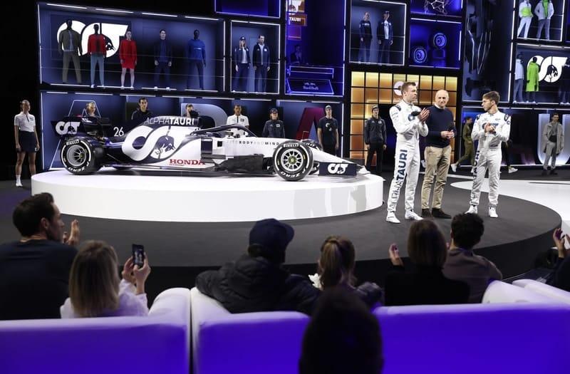 "Chase Carey: ""The new Scuderia AlphaTauri car looks fantastic"" - The Checkered Flag"