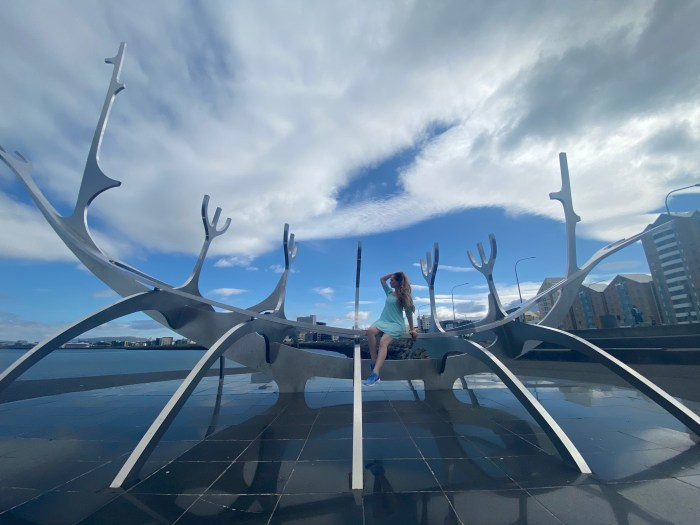 what to do in reykjacvik iceland sun voyager statue
