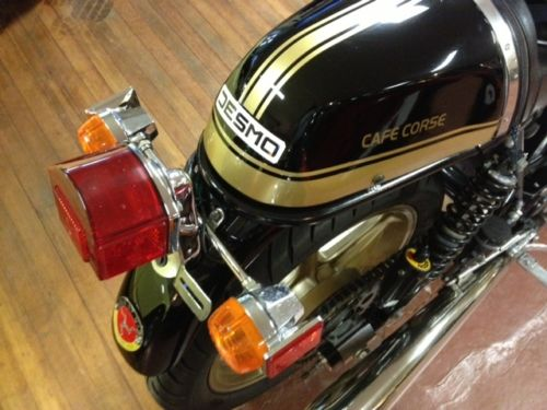 1978 Ducati 900SS Cafe Corsa Tail
