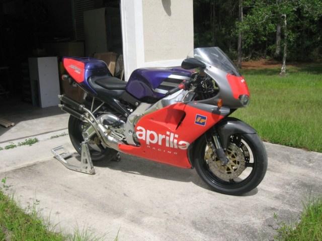1995 Aprilia RS250 R Side Front