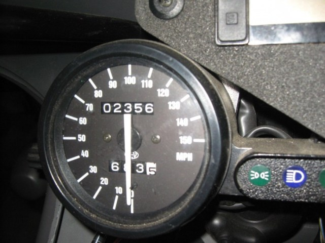 1995 Aprilia RS250 Speedo