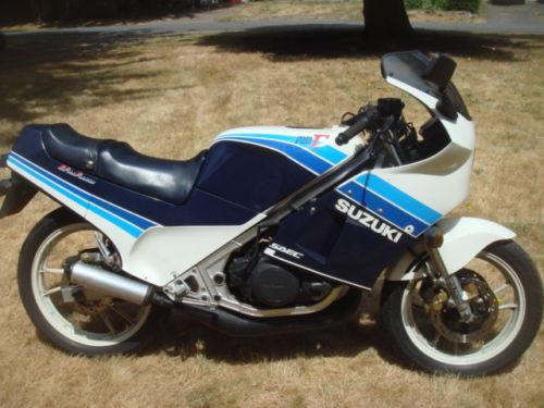 1986 Suzuki RG250 L Side