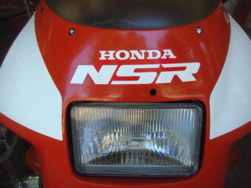 1987 Honda NSR250R Front