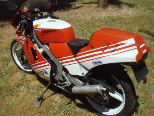 1987 Honda NSR250R L Side Rear