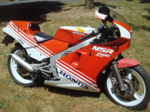 1987 Honda NSR250R R Side Front
