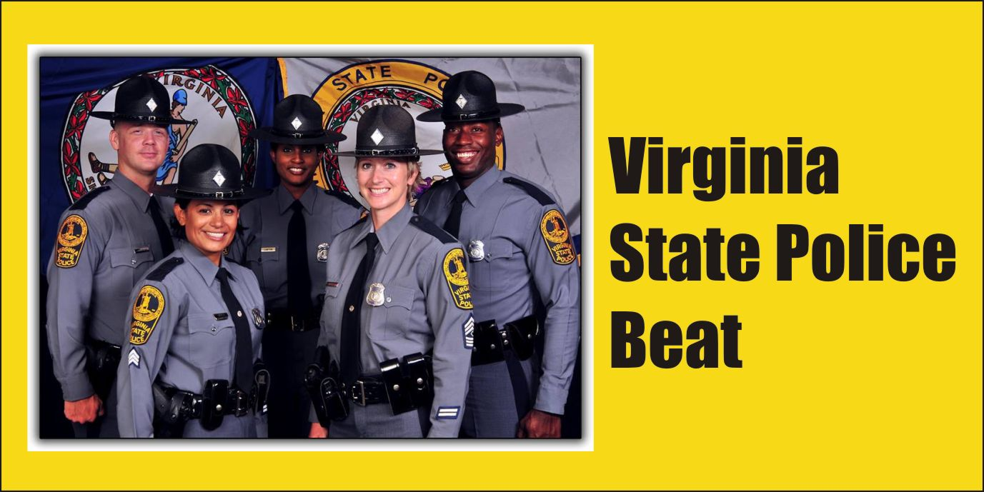 VIRGINIA STATE POLICE BEAT: Stacy Paul Dyer drove stolen Rav4 wrong way on Rt. 17 struck tractor-trailer