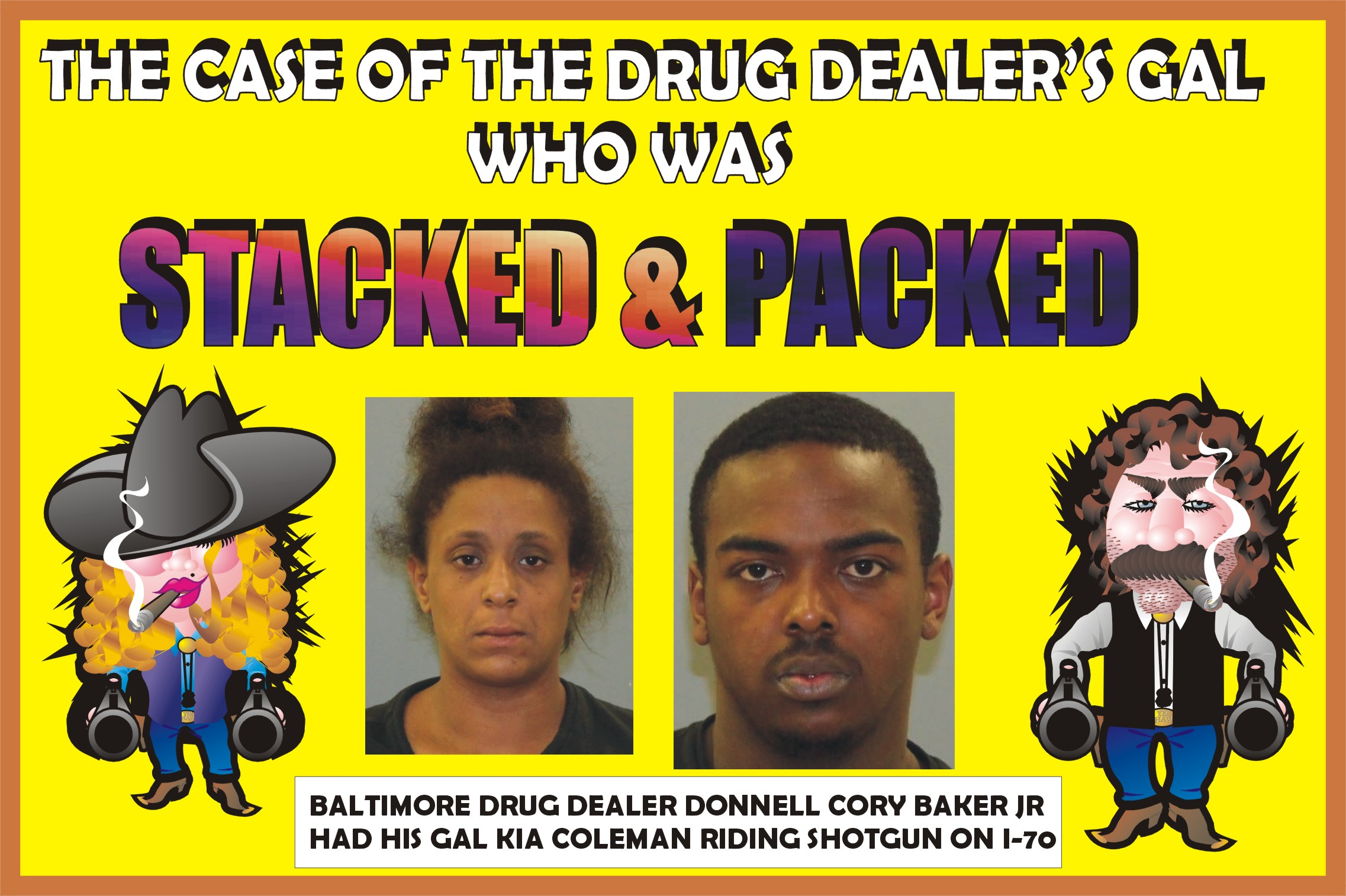 MARYLAND STATE POLICE BEAT: Drug seizures highlight road patrol as
