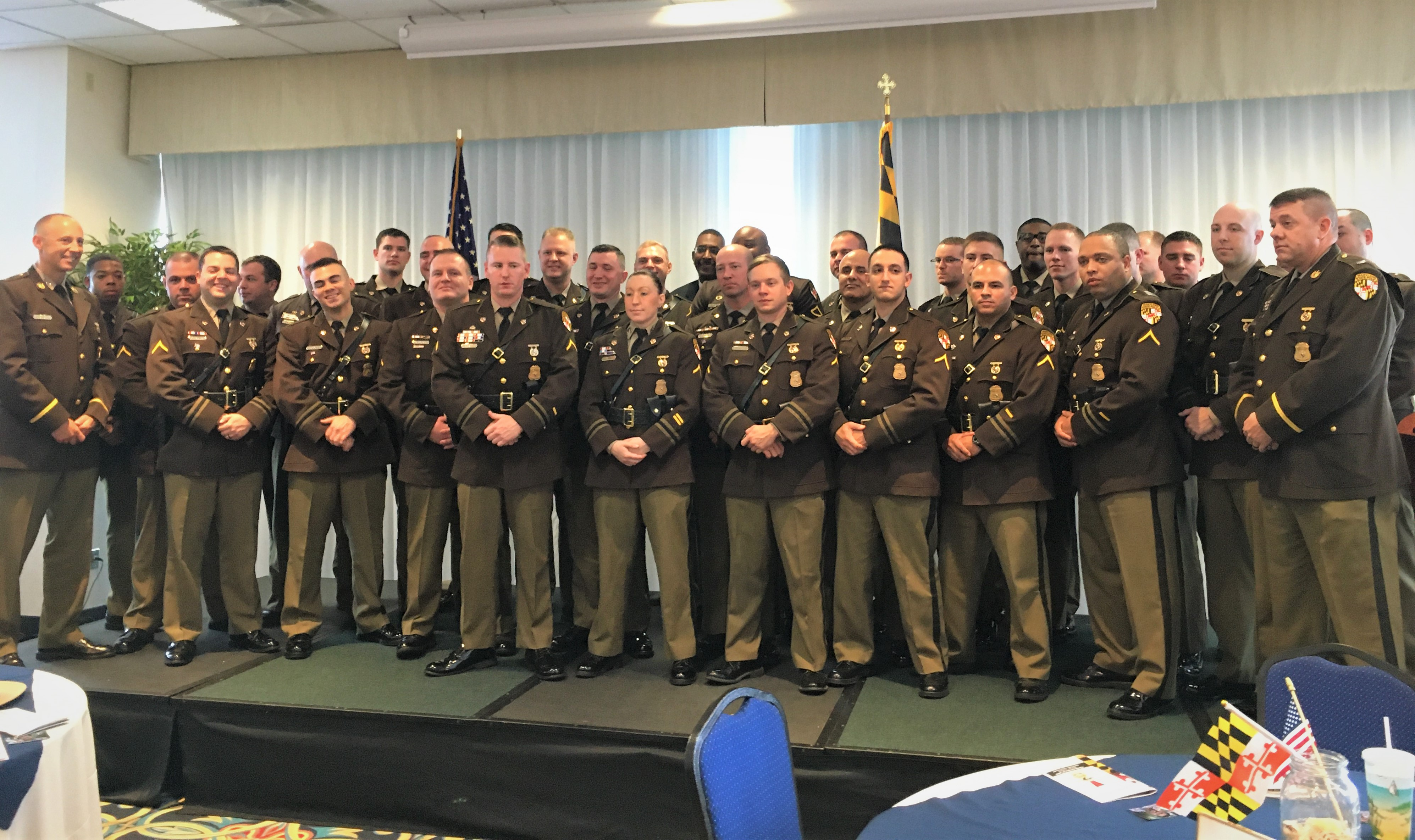 DWI HIT PARADE: Maryland State Police report 553 DUI arrests for October of 2019; Gov. Larry Hogan with families who remember their loved ones killed by impaired drivers