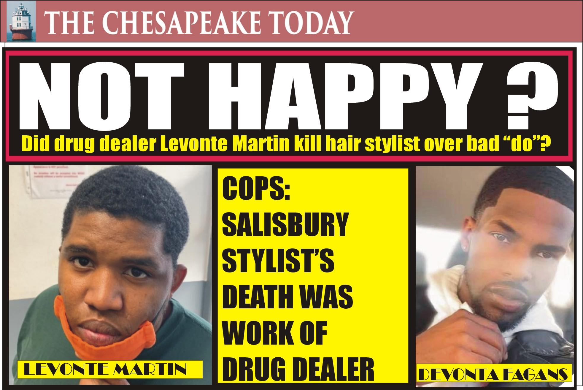 MURDER USA: Maryland State Police Arrest Drug Dealer Levonte Javar Martin in Salisbury Homicide