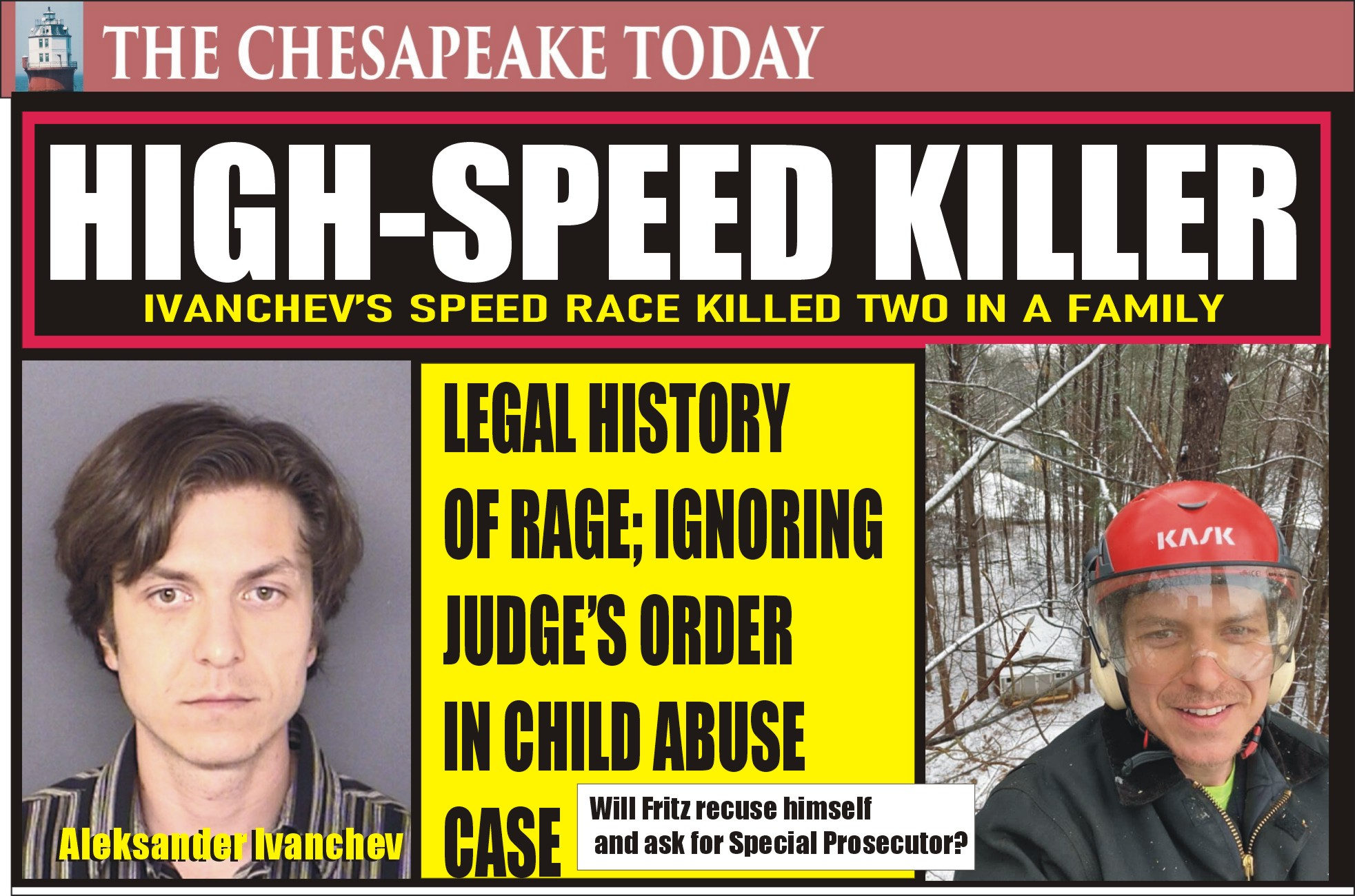 HIGH-SPEED MURDER: Hot Rod Ivanchev killed two in a family when he blew through a red light