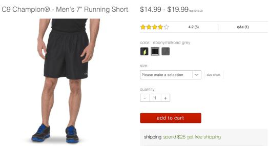 Target Champion Shorts