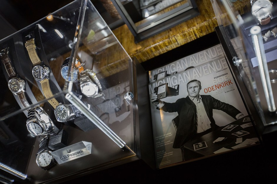 Bob Odenkirk celebrates Michigan Avenue magazine's Spring 2015 Issue at the Vertigo Sky Lounge in the dana hotel and spa, Chicago.