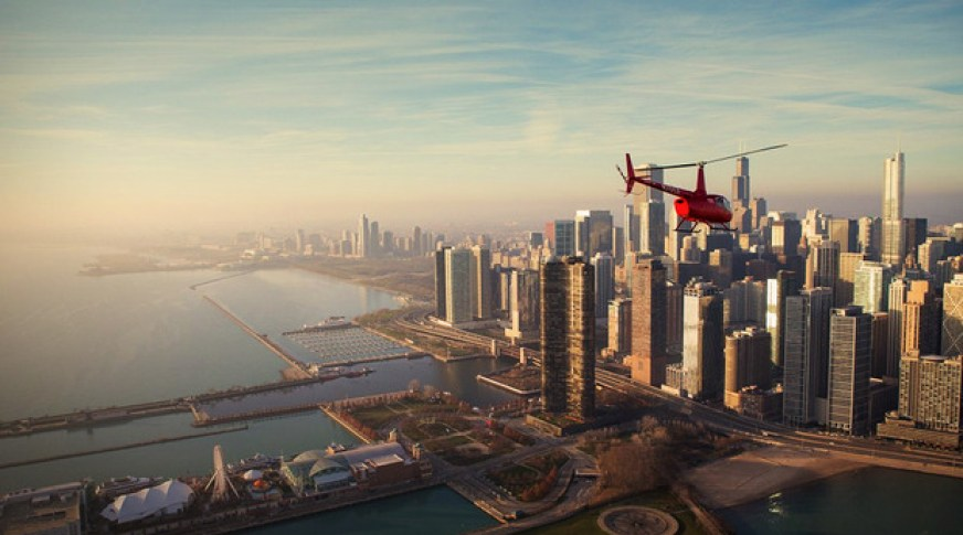 Photo Credit: Chicago Helicopter Experience