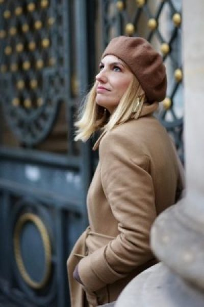 Basco marrone cappotto cammello Paris Fashion Week The Chic Jam gm style
