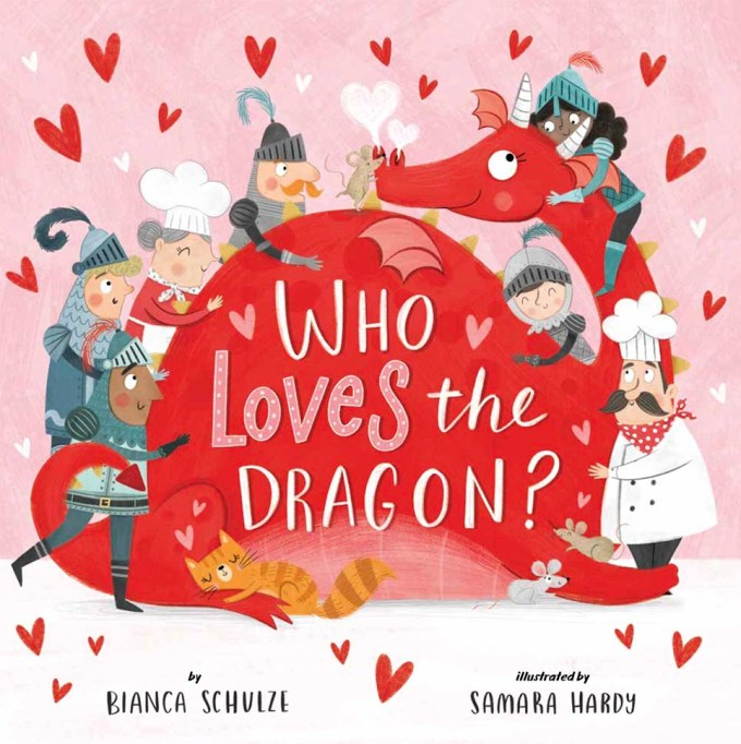 Who Loves the Dragon? by Bianca Schulze: Book Cover