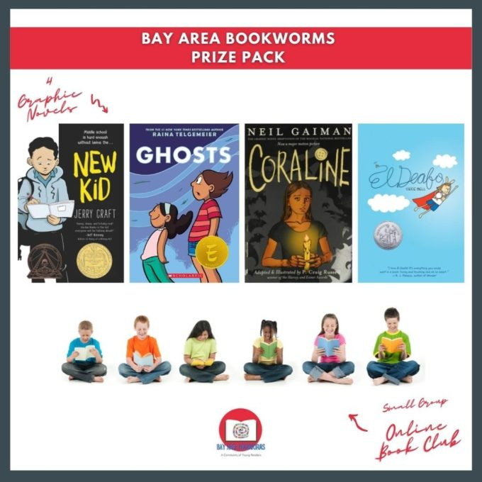 Bay Area Bookworms Giveaway Prize