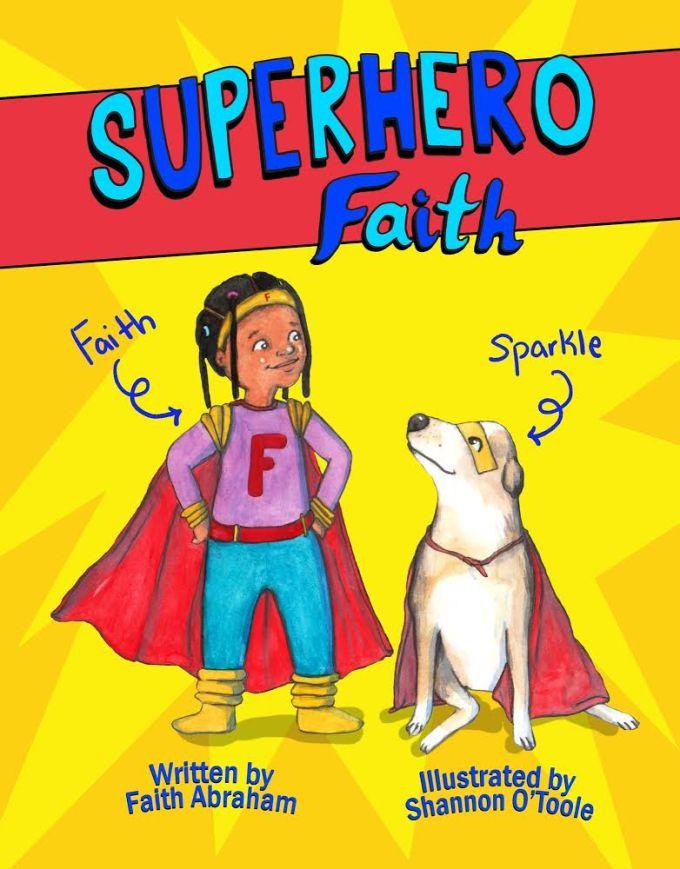 Superhero Faith Book Cover