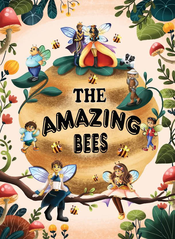 The Amazing Bees: Book Cover