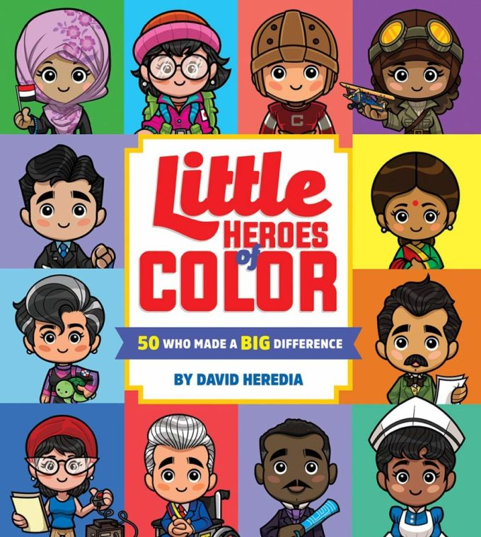 Little Heroes of Color: Book Cover