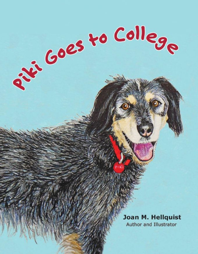 Piki Goes to College: Book Cover