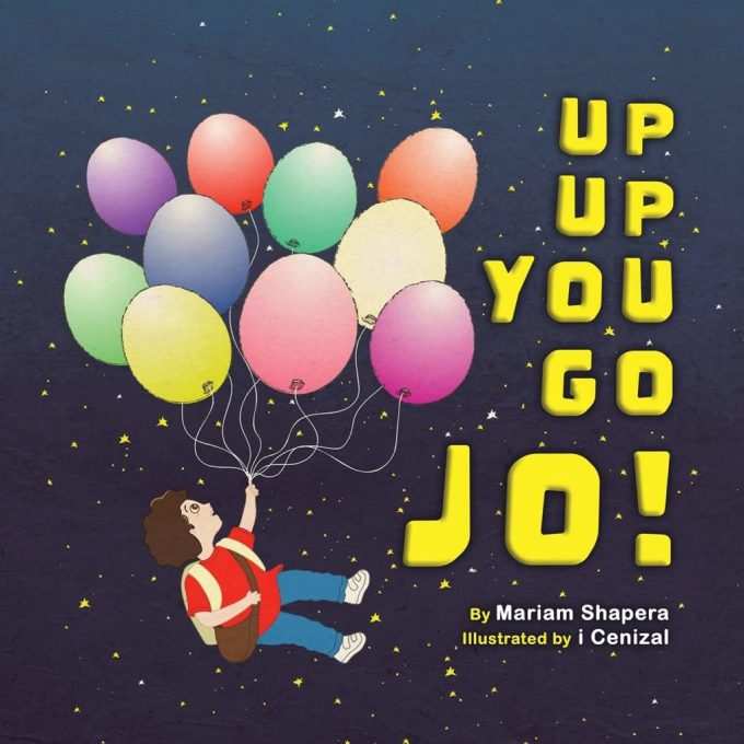 Up Up You Go Jo: Book Cover