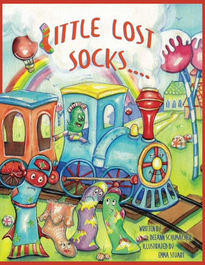 Little Lost Socks: Book Cover