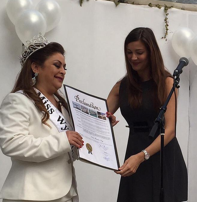 "Miami-Dade County Proclaimed Feb 16, 2015 as ""Nina Fuentes Day"""