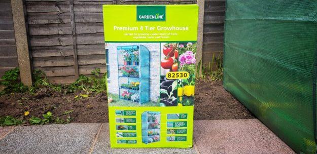 ALDI Gardenline 82530 Plastic Greenhouse